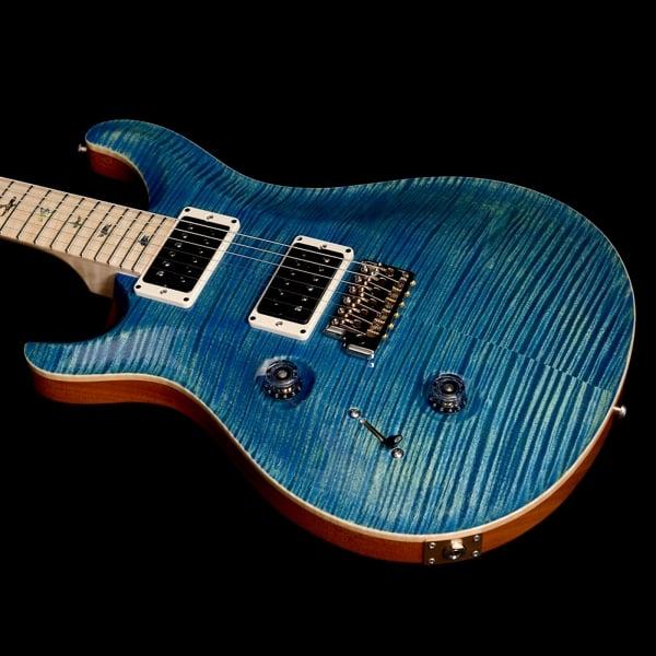 left handed prs custom 24 river blue. Black Bedroom Furniture Sets. Home Design Ideas