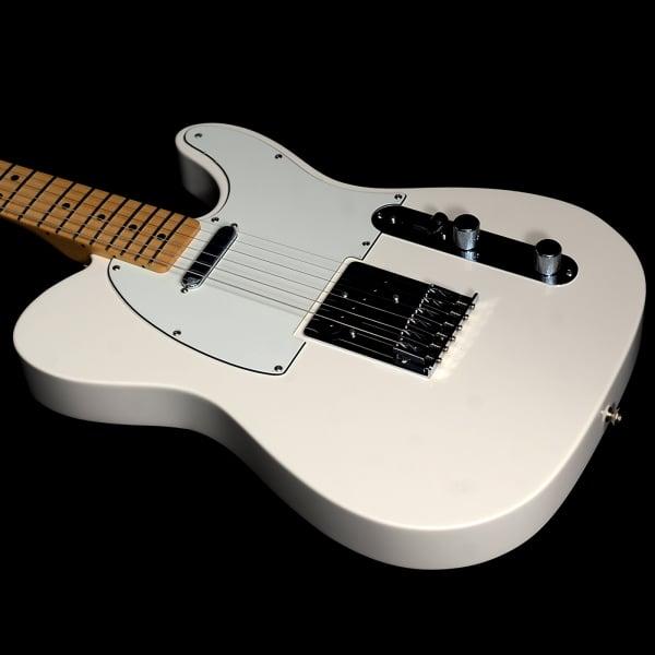 fender standard telecaster electric guitar arctic white. Black Bedroom Furniture Sets. Home Design Ideas