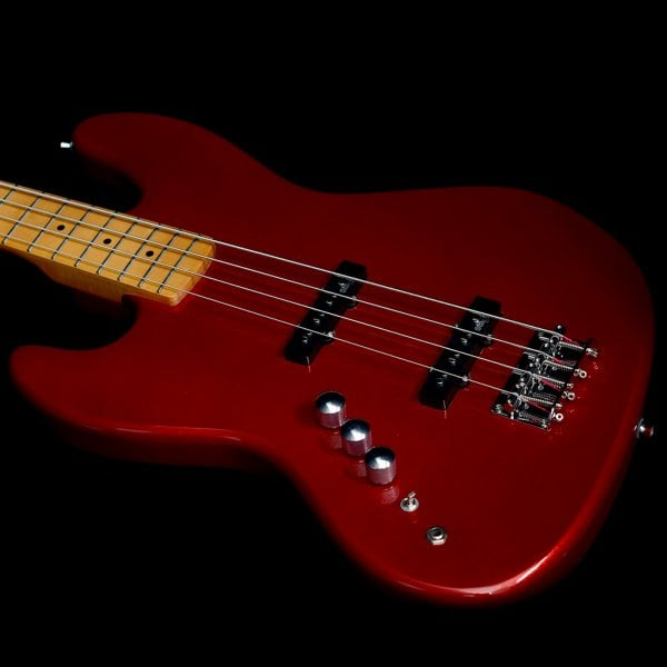 Buy Stagg Left Handed Bass Guitar Red Sound Affects Premier