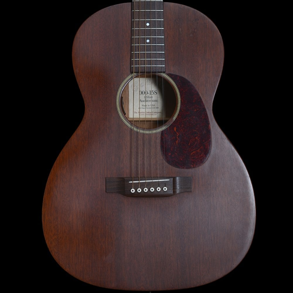 Martin 2001 000-15S 12-Fret Acoustic Guitar, Pre Owned
