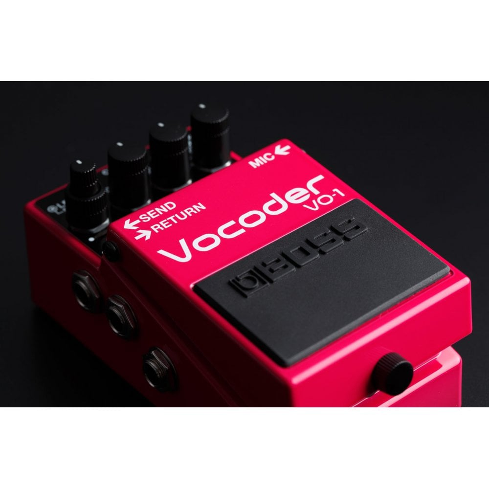 boss vo 1 vocoder effects pedal refurbished without original packaging. Black Bedroom Furniture Sets. Home Design Ideas