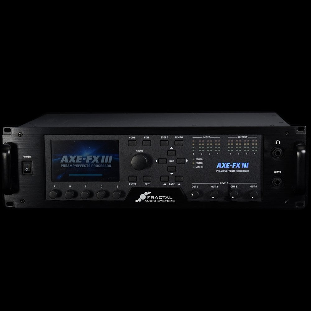 Axe FX III | Axe FX 3 Amp Modeller, Preamp Effects Processor, Pre Owned