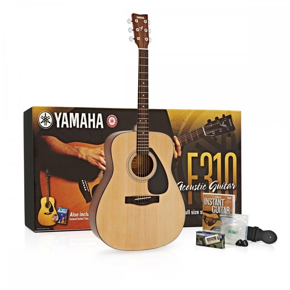 Yamaha Yamaha F310P2 Acoustic Guitar Performance Pack (Tatty Box)