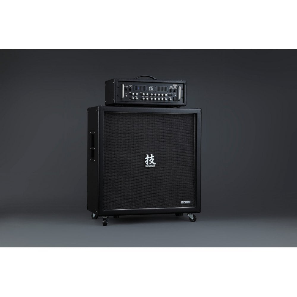 boss waza amp head and 412 guitar amplifier cabinet x1 artist stock with warranty. Black Bedroom Furniture Sets. Home Design Ideas