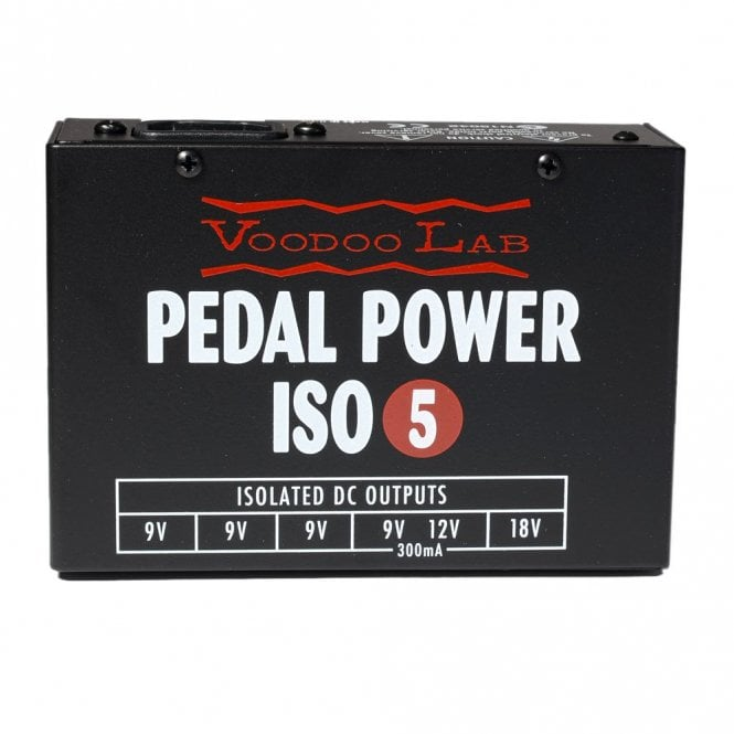 Voodoo Labs Pedal Power ISO-5 Power Supply for Pedalboards