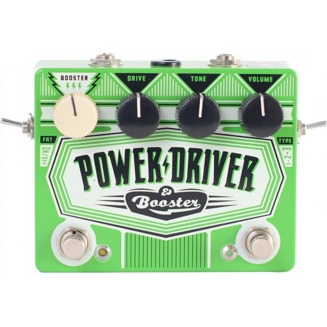 DR NO Power Driver Booster Effects Pedal