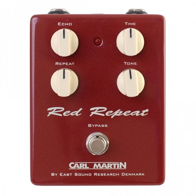 Carl Martin Red Repeat Vintage Series Delay Effects Pedal
