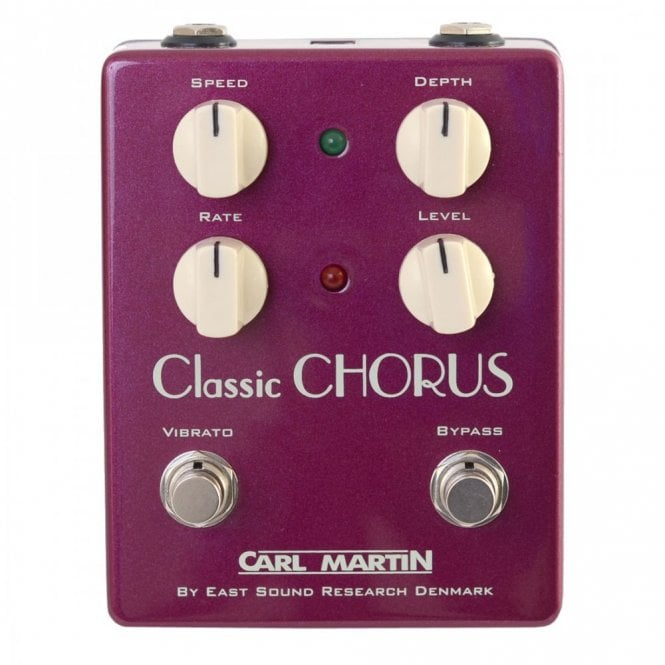 Carl Martin Classic Chorus - Vintage Series Effects Pedal