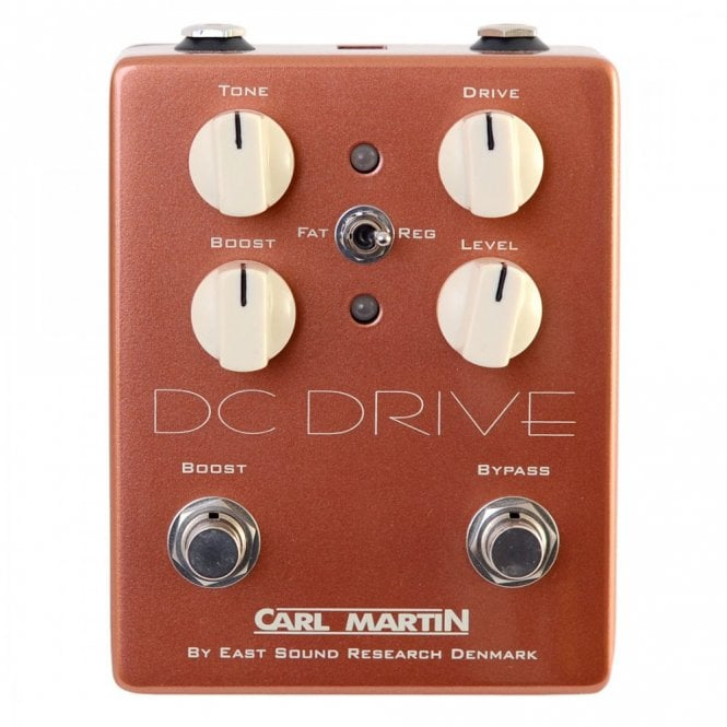 Carl Martin DC Drive - Vintage Series Overdrive Effects Pedal