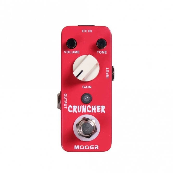 Mooer Cruncher Micro Series Distortion Pedal