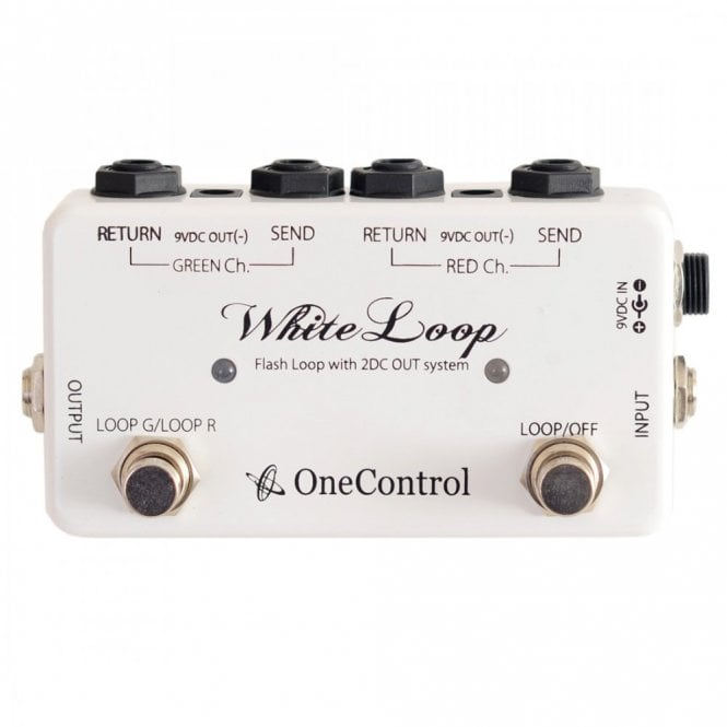 One Control White Loop 2 Loop Flash Switcher with 2 DC Ouputs
