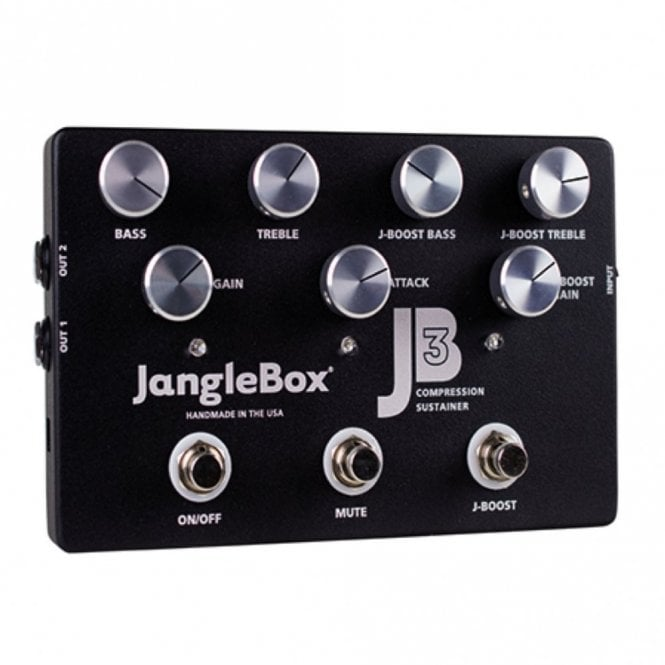 Janglebox JB3 Compressor Sustainer, Deluxe Stage Effects Pedal