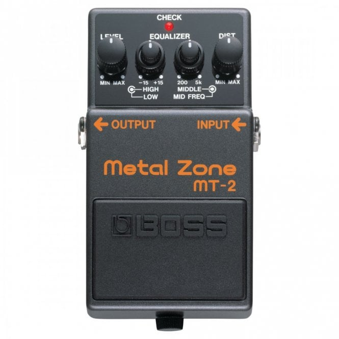 Boss MT-2 Metal Zone Distortion Stompbox