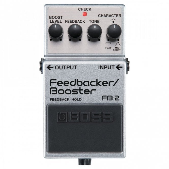 Boss FB-2 Feedback & Booster Guitar Effects Pedal