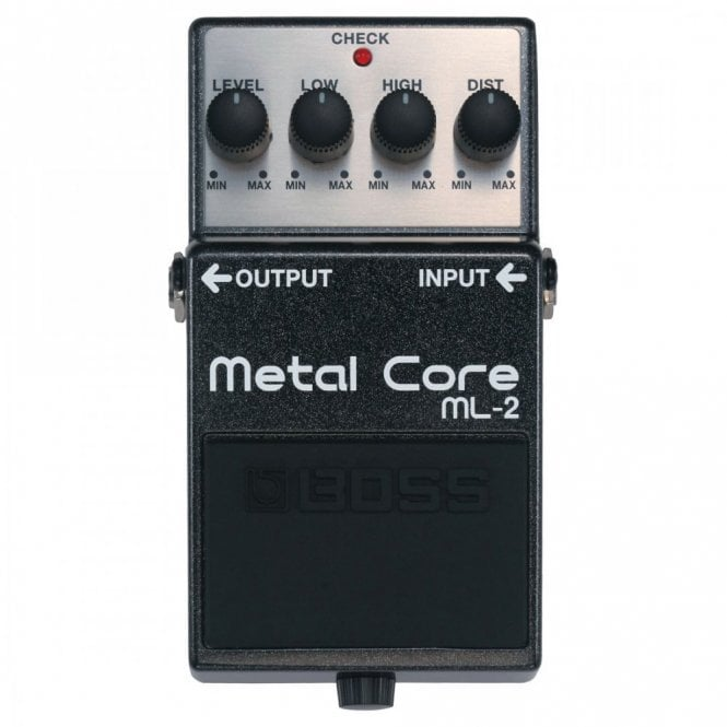 Boss ML-2 Metal Core Effects Pedal Stompbox
