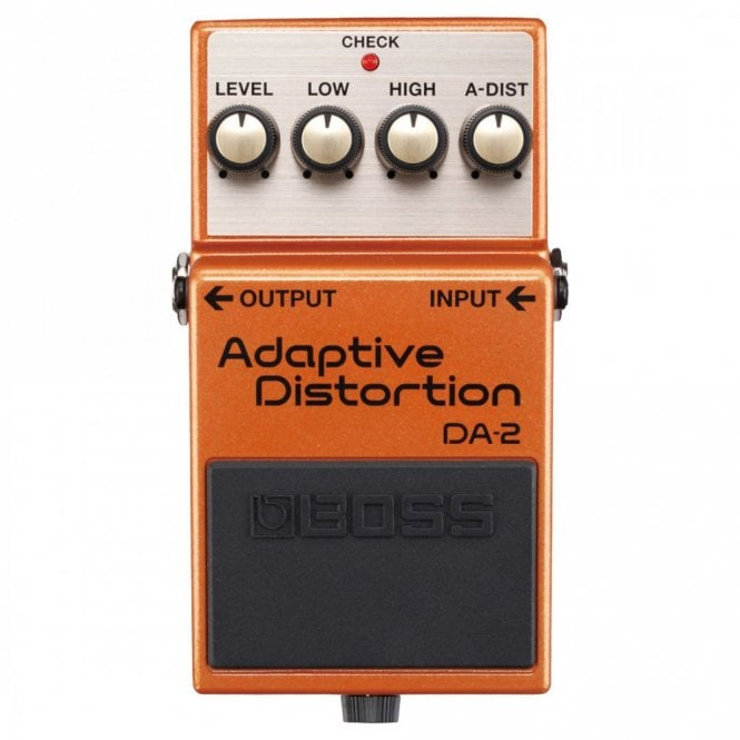 Boss DA-2 Adaptive Distortion Guitar Effect Pedal