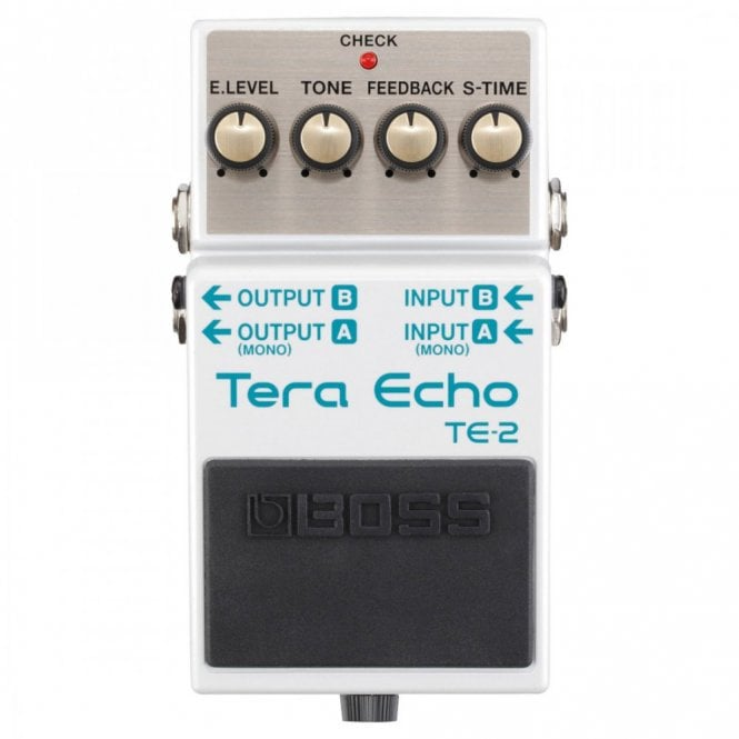 Boss TE2 Tera Echo Space Delay Guitar Effects Pedal