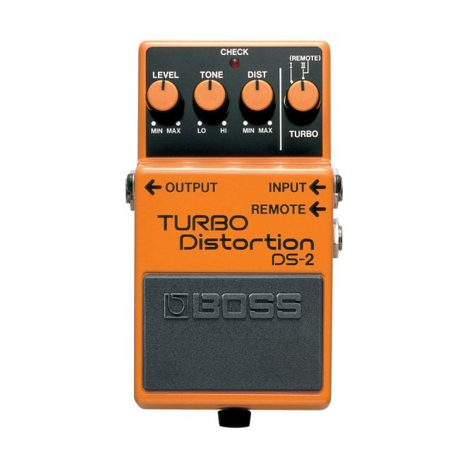 Boss DS-2 Turbo Distortion Effects Pedal