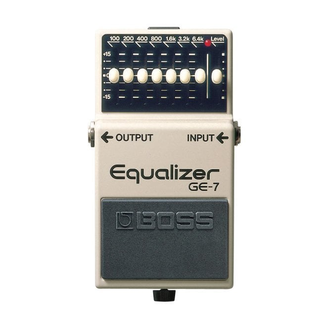 GE-7 Graphic Equalizer Compact Pedal (X1- Ex Display- With Warranty)