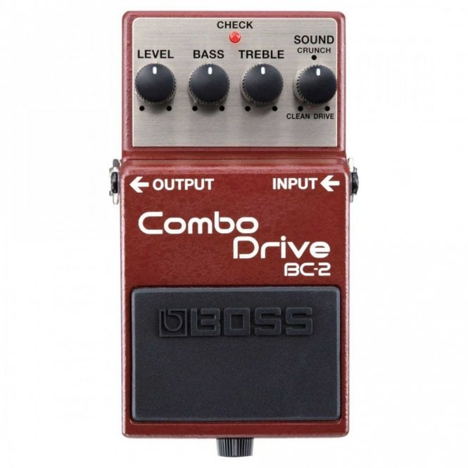 Boss BC-2 Combo Drive Overdrive Pedal