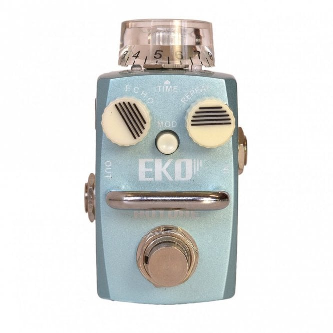 Hotone Eko Digital Analog Delay Guitar Effects Pedal