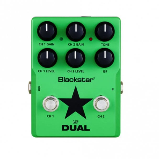 Blackstar LT DUAL 2 Channel Overdrive / Distortion Effects Pedal