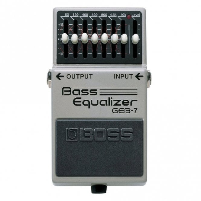 Boss GEB-7 Bass Graphic Equalizer Compact Pedal