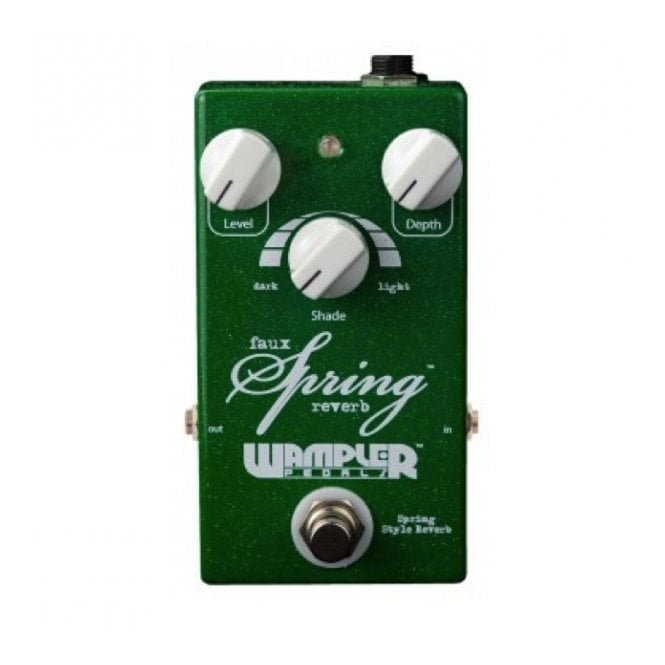 Wampler Faux Spring Reverb Pedal - Discontinued Model