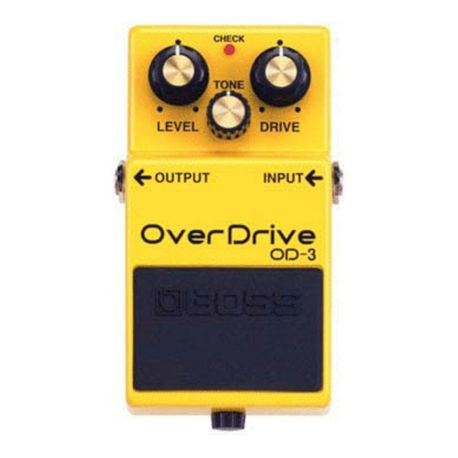 Boss OD-3 Compact Electric Guitar Overdrive Pedal