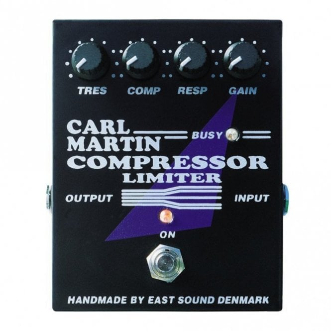 Carl Martin Compressor Limiter - Pro Series Effects Pedal
