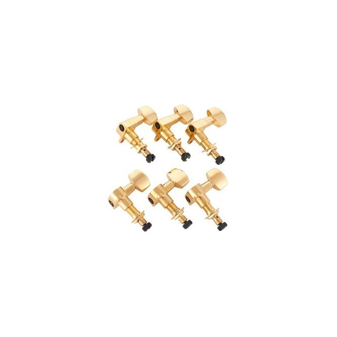 PRS Spare - Phase II Locking Tuners, Gold (Set of 6) - ACC-4338
