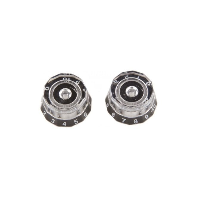 PRS Spare - 513 Knobs , Clear/Black - ACC-4246