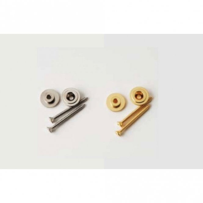 PRS Spare - Strap Buttons (& Screws), Nickel - ACC-4217