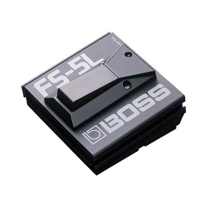 Boss FS-5L (Latching) Durable Metal Control Foot Switch