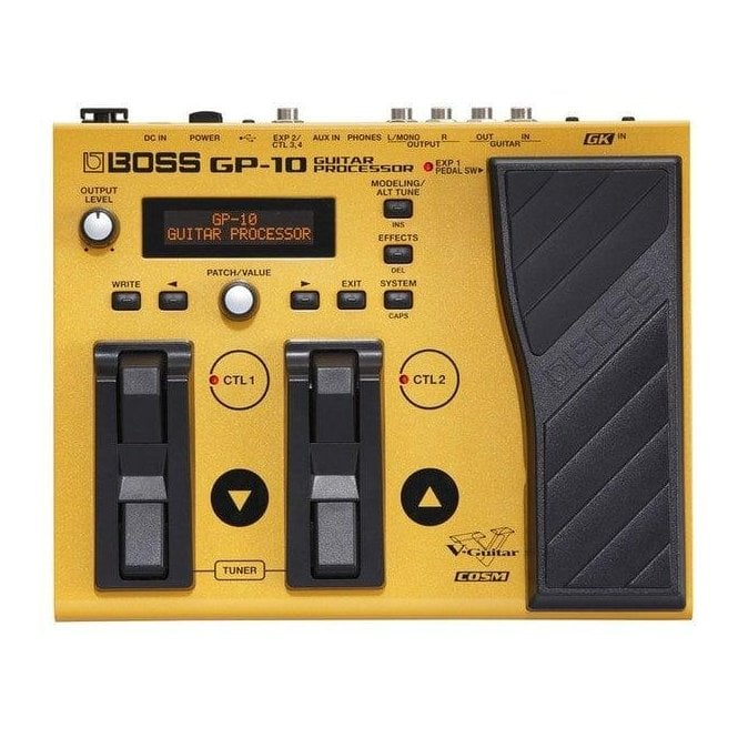 Boss GP-10GK Guitar Processor with GK-3 Pickup and Cable