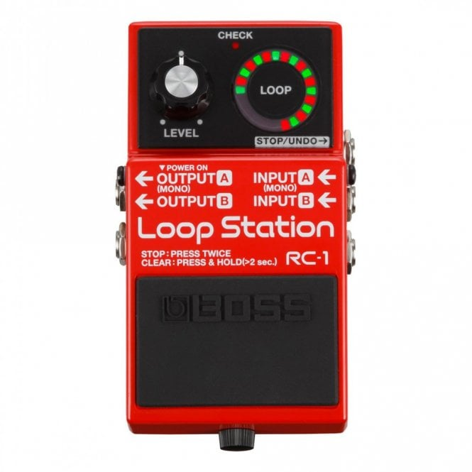 Boss RC-1 Loop Station Looper Guitar Effects Pedal