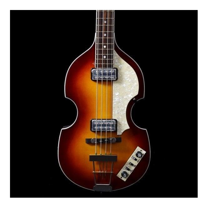 Hofner Contemporary Series HCT500/1 Violin Bass Sunburst + Hard Case