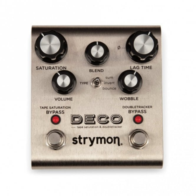 Strymon Deco Tape Saturation & Double Tracker Guitar Effects Pedal
