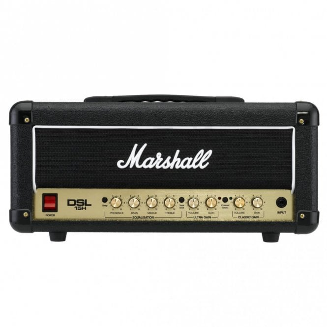 Marshall DSL15 H All Valve 15 Watt Amplifier Head