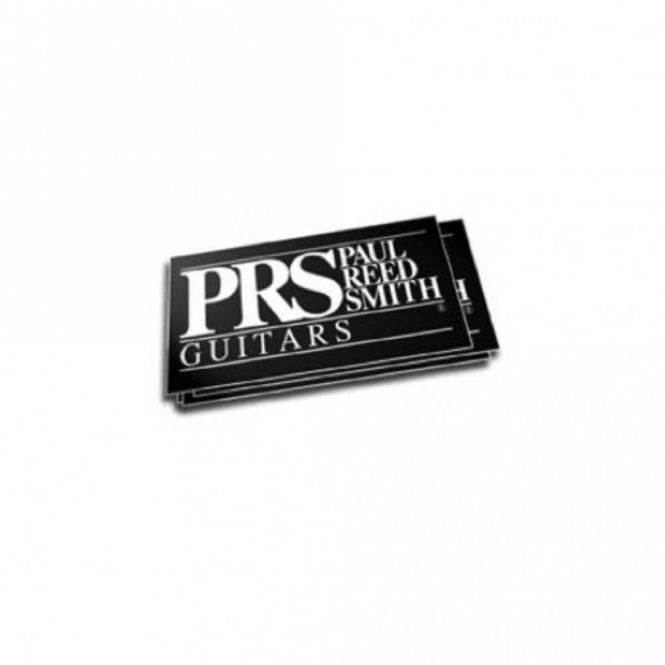 PRS Paul Reed Smith Guitars Sticker (Black)