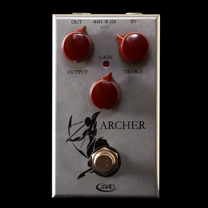 Rockett Archer Overdrive Boost Guitar Effects Pedal Klon Klone