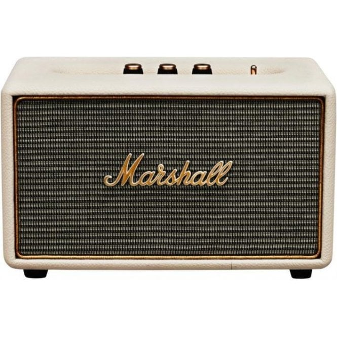Marshall Acton Compact Stereo Speaker System w/ Bluetooth (Cream)