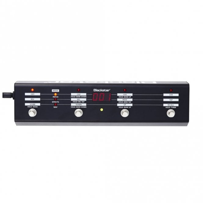 Blackstar FS-10 Foot Pedal - Controller For Any ID Series Amp