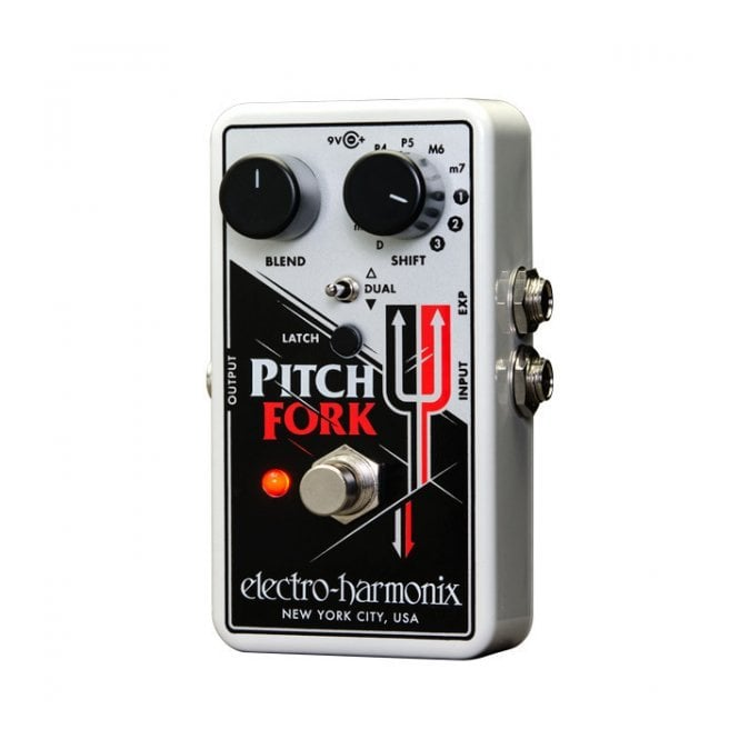 Electro Harmonix Pitch Fork Polyphonic Pitch Shifter Guitar Effects Pedal