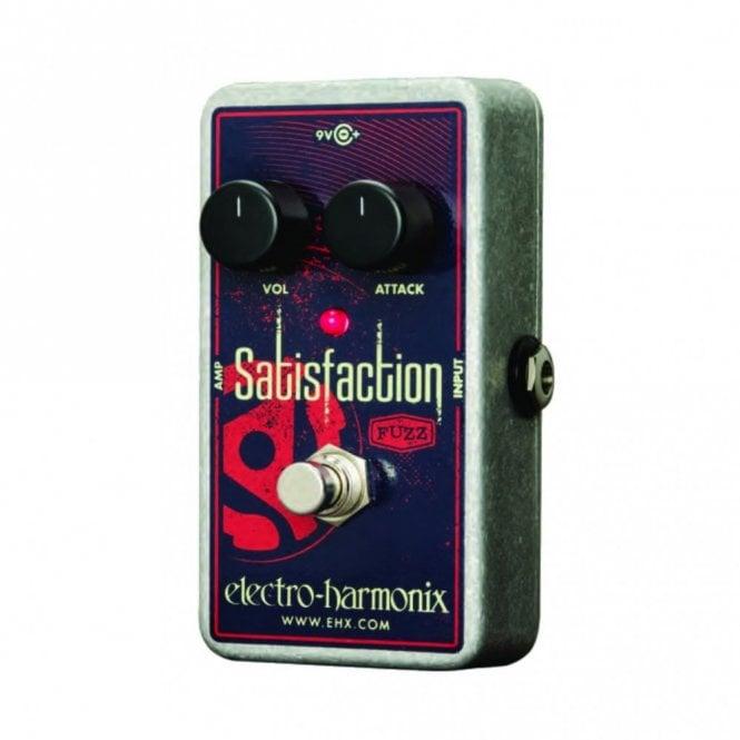 Electro Harmonix Satisfaction Fuzz Guitar Effects Pedal