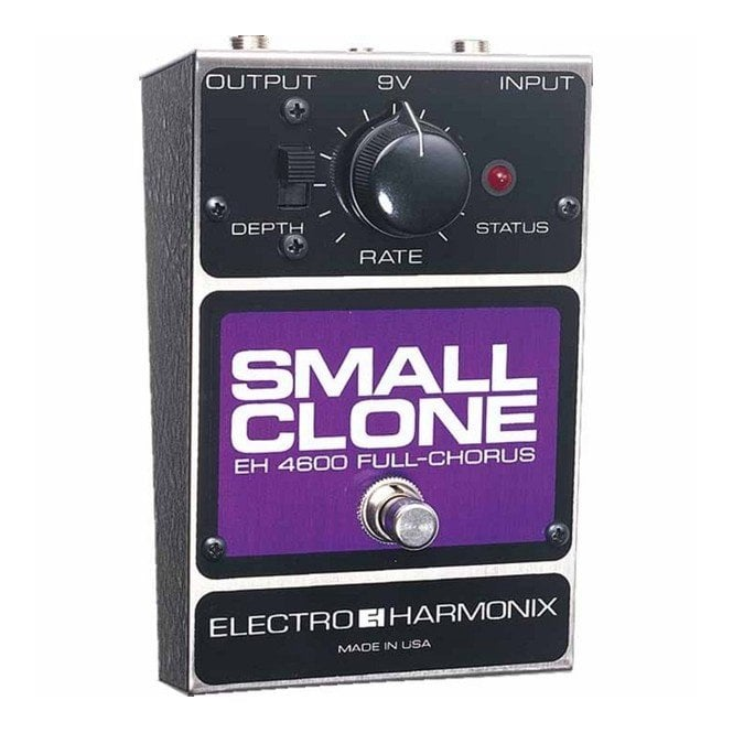 Electro Harmonix Small Clone Chorus Guitar Effects Pedal