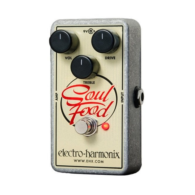 Electro Harmonix Soul Food Transparent Overdrive Guitar Effects Pedal
