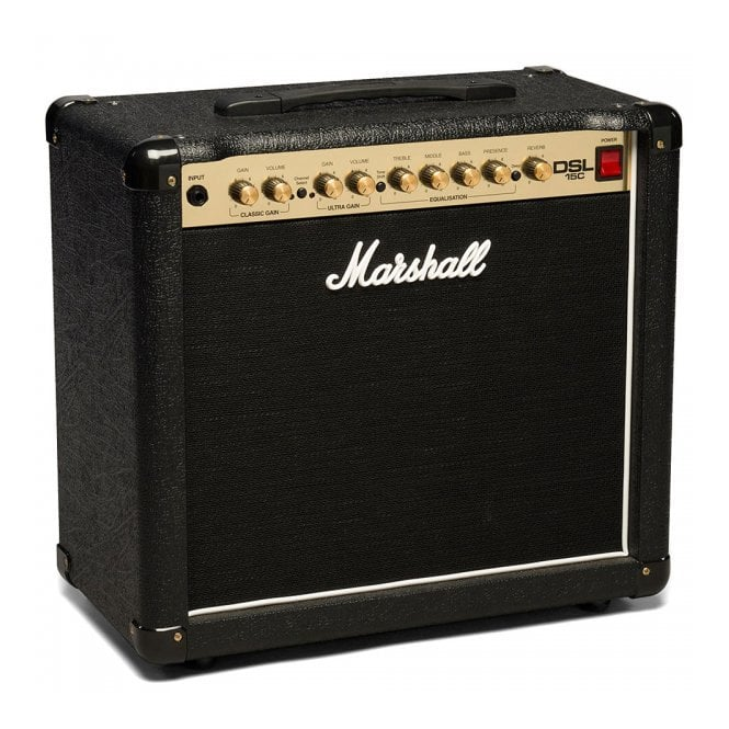 Marshall DSL15C All Valve 15 Watt Combo Amplifier