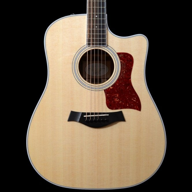 Taylor 410ce Electro Acoustic Dreadnought In Natural Gloss