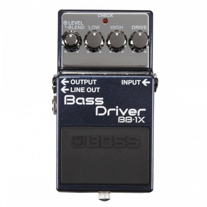 Boss BB-1X Bass Driver & DI Pedal